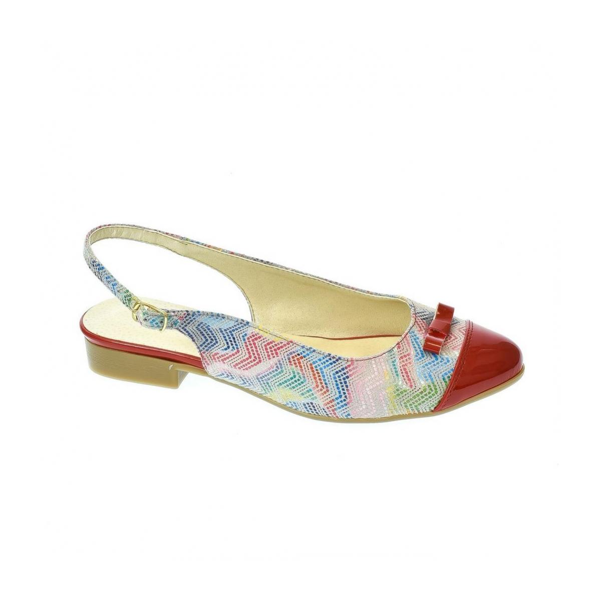 4fe634517cdc Dámske červené sandále Eveline 2 - 3