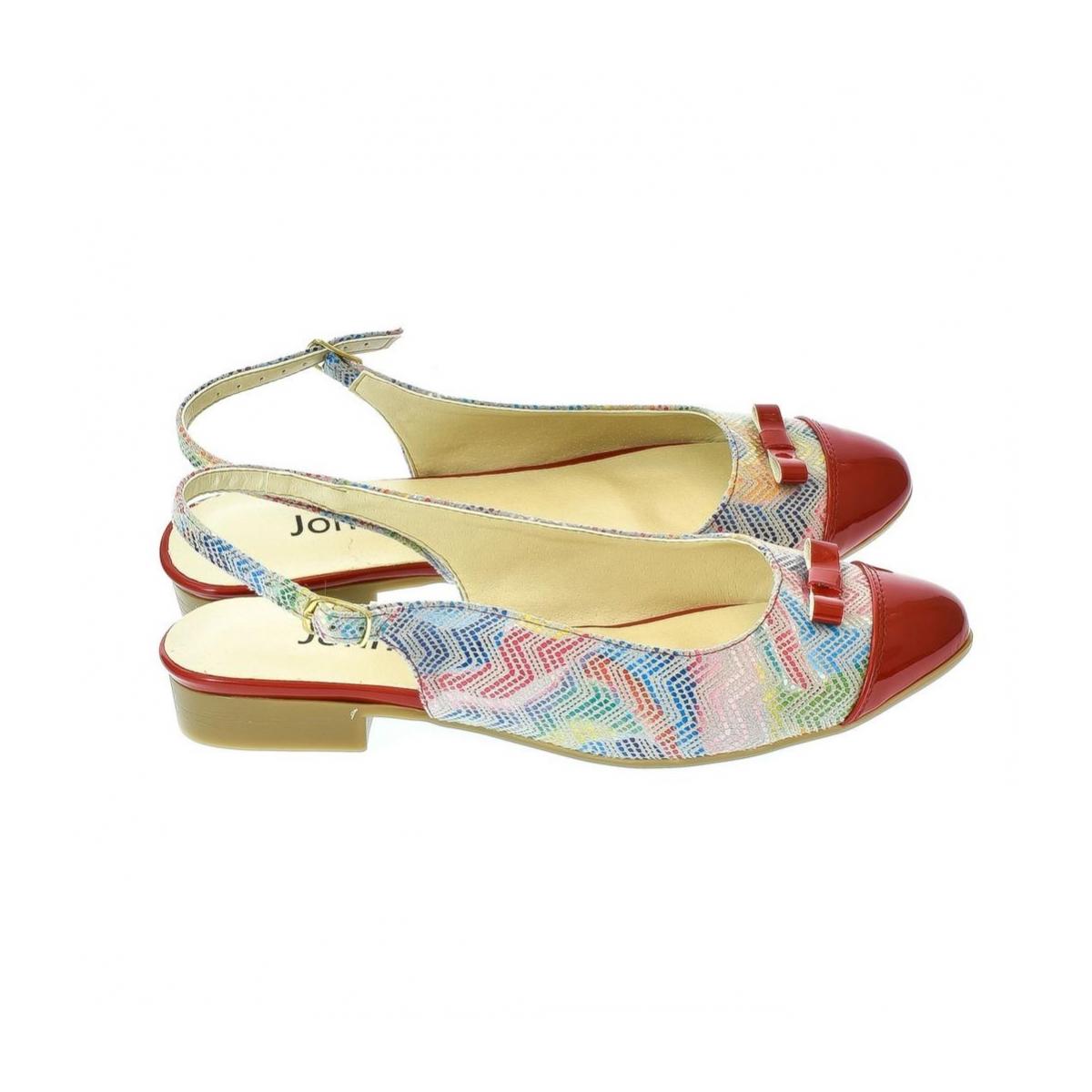 87a339769c41 Dámske červené sandále Eveline 2 - 6