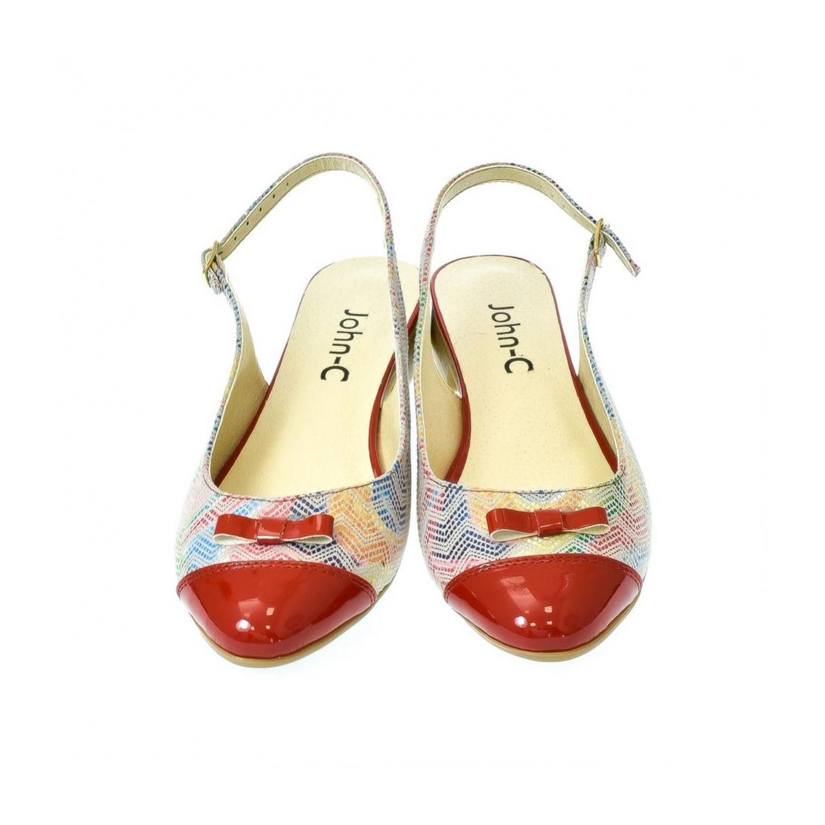 d1c06142ffd2 Dámske červené sandále Eveline 2 - 7