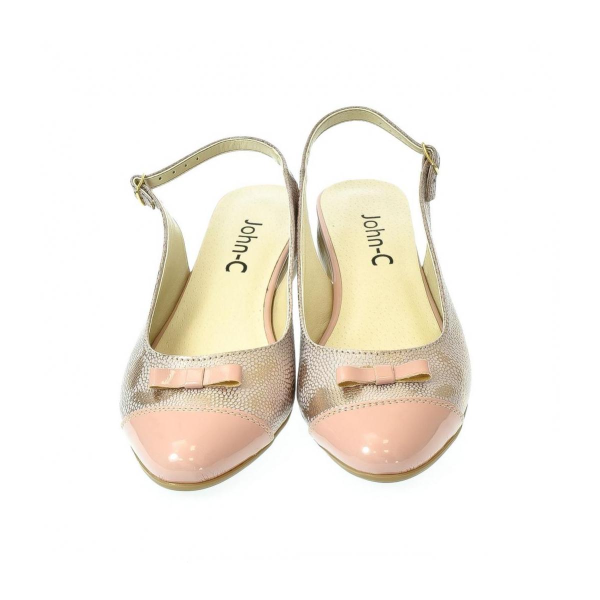 22f9ca3964c0 Dámske ružové sandále Eveline - 6