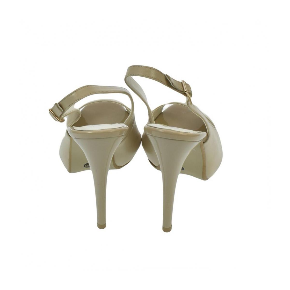 3c1d5707503b Dámske kožené béžové sandále SINNI - 6