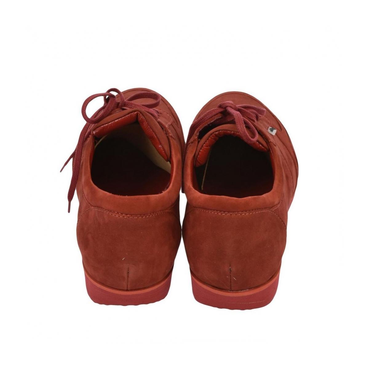 13047eeeaf Pánske kožené červené tenisky BEN - 5