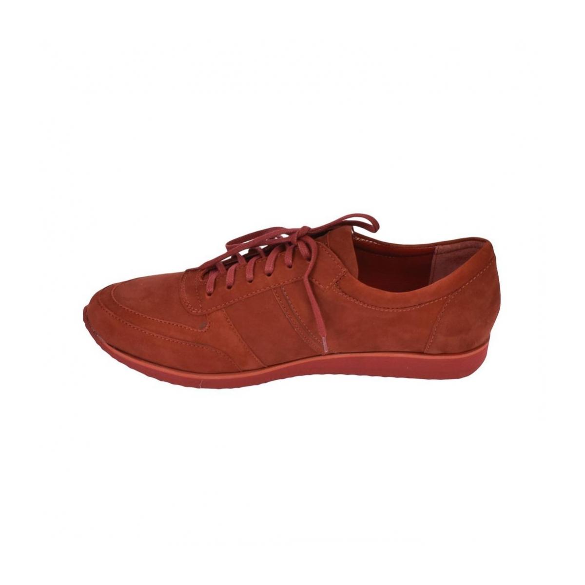 Pánske kožené červené tenisky BEN - 7 4b10bce4abd