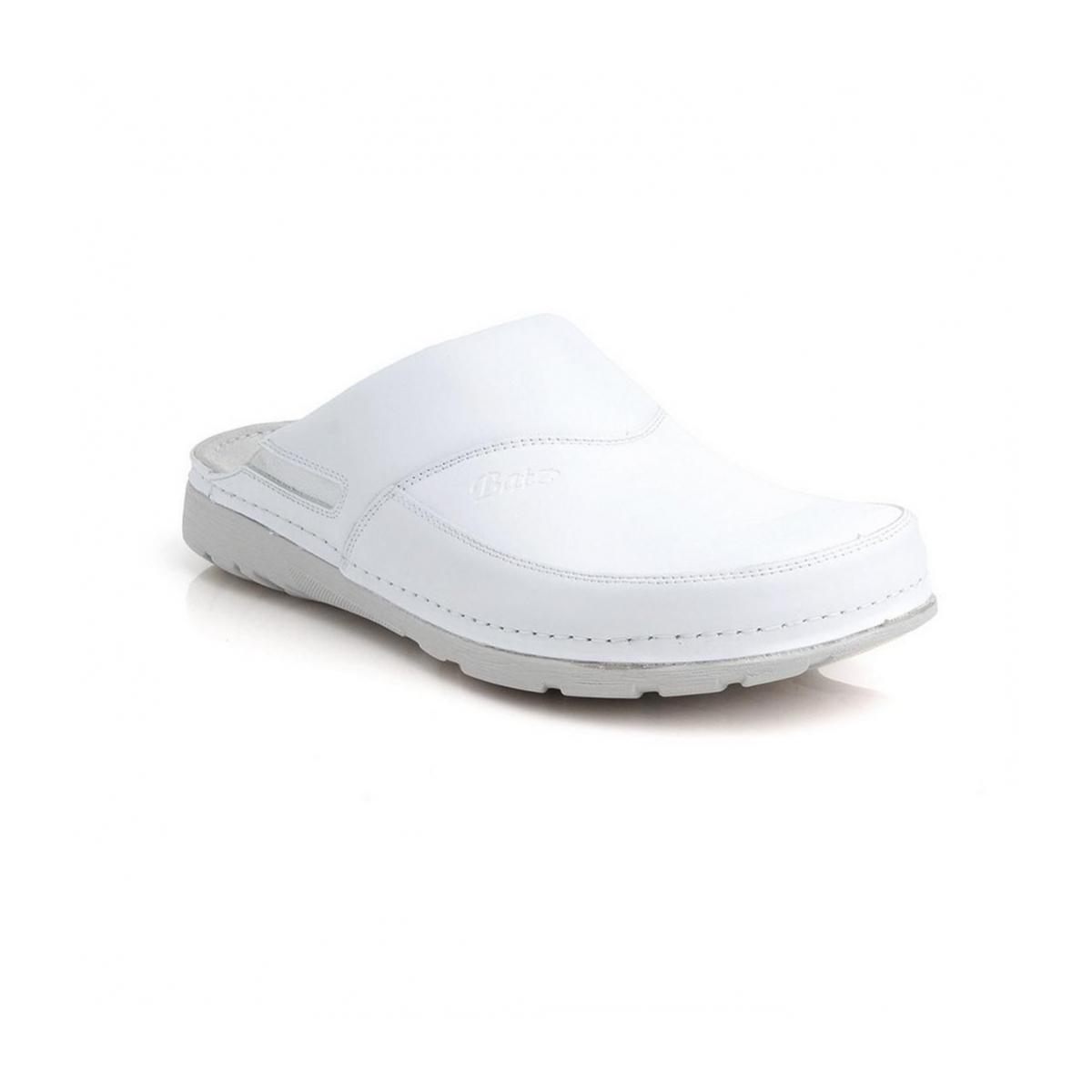 0beb66183b9f Pánske biele zdravotné šľapky PETER - 2