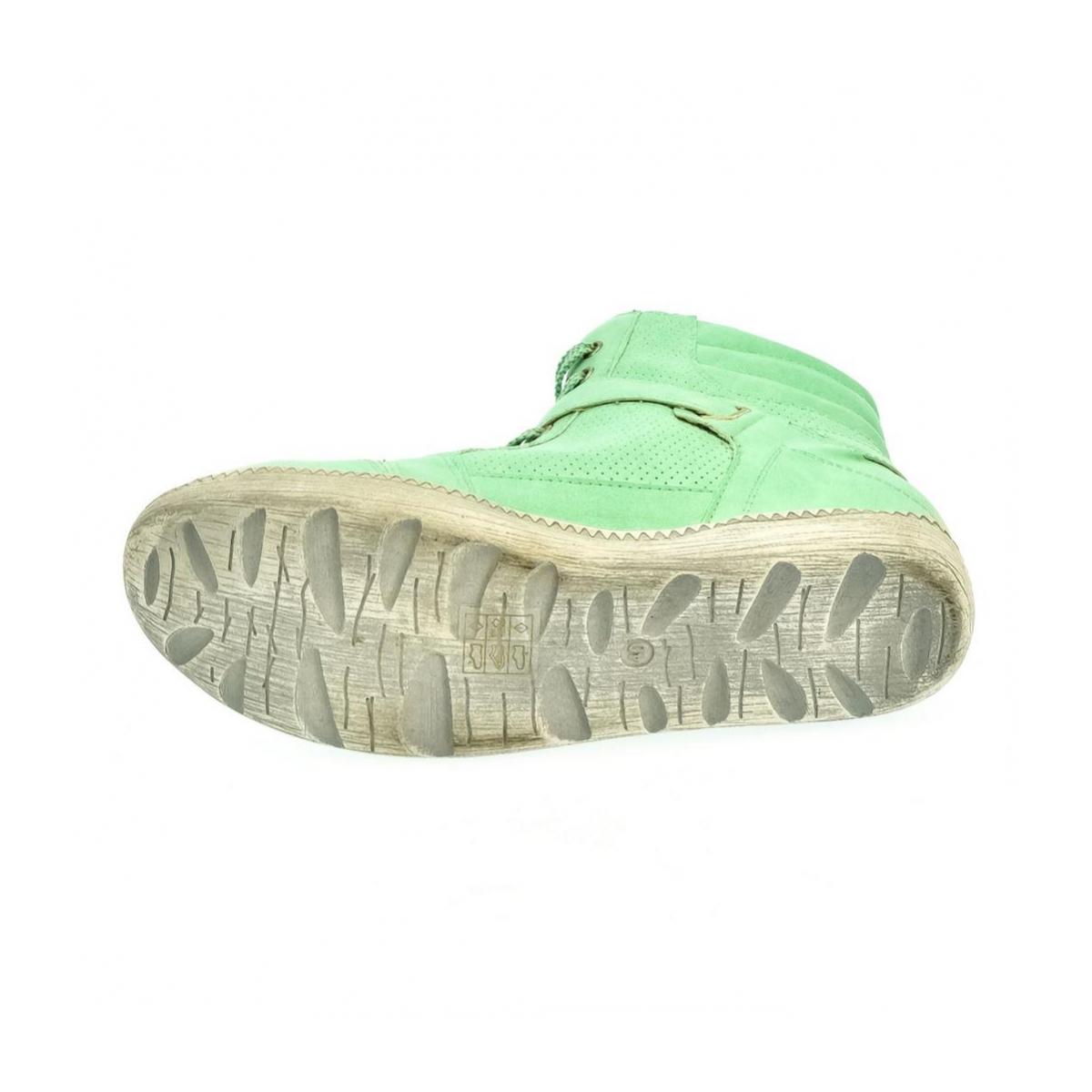 2ca751c7c90d7 Dámske zelené tenisky CILA - 6