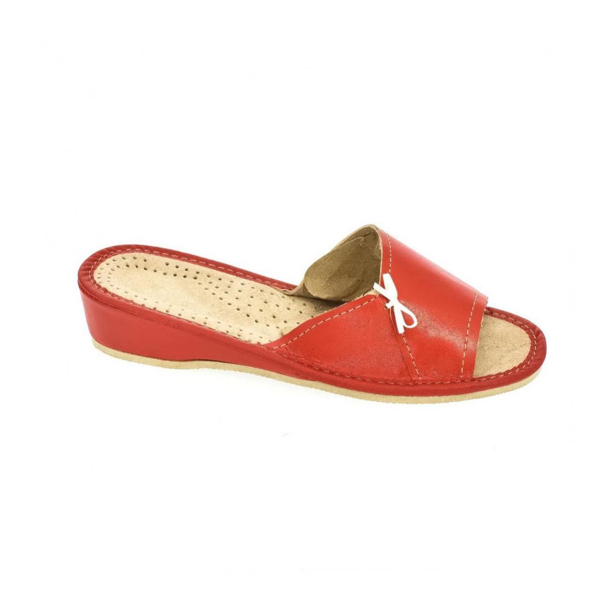 149e33ed7987 Dámske červené papuče Zita - 4