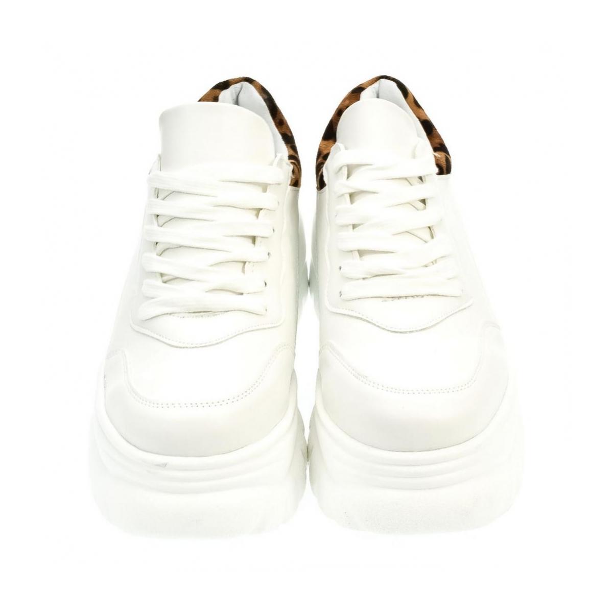 Dámske biele tenisky TRIBI - 2 0c1c606f58c