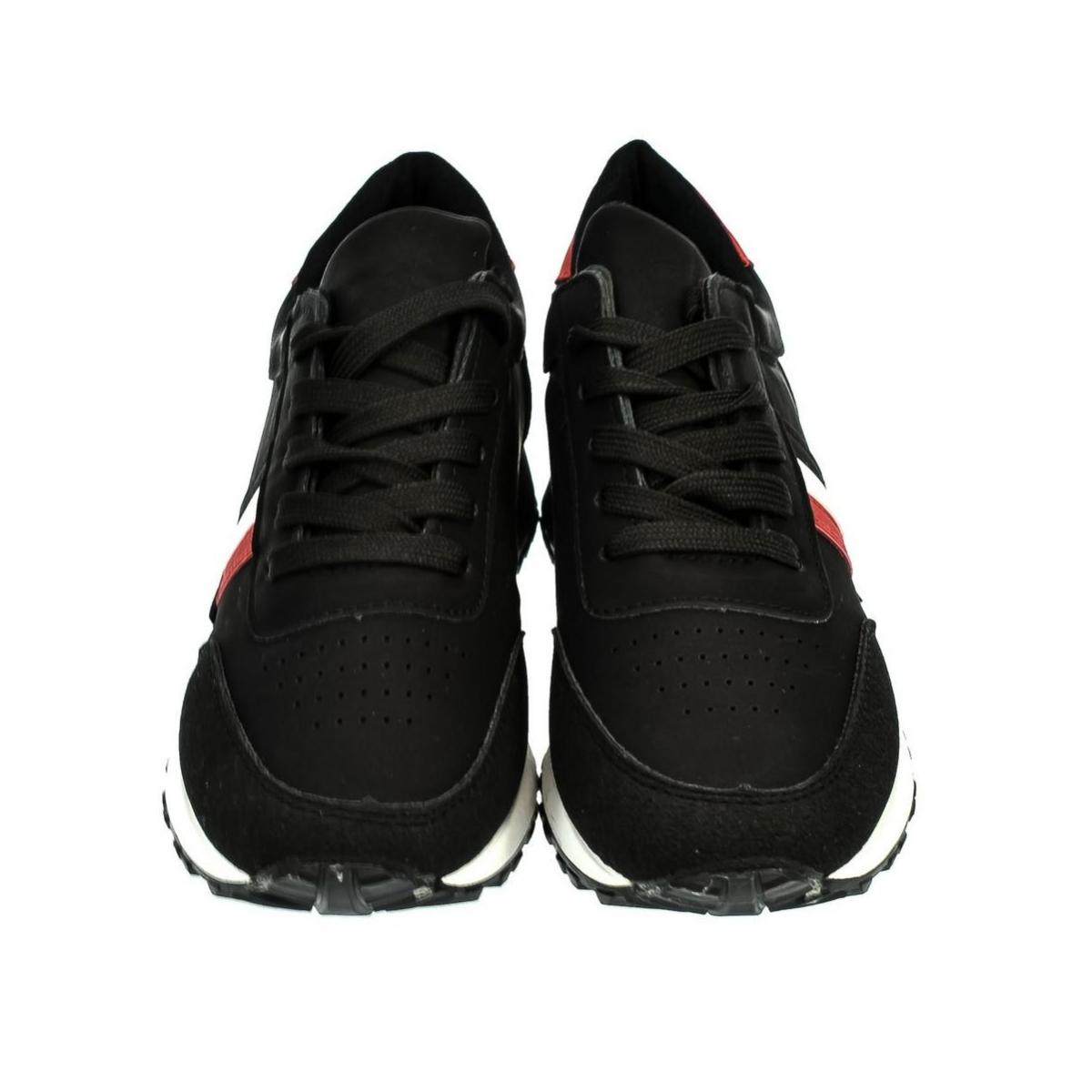 Dámske čierne tenisky MENTO - 2 0f43aa368e1