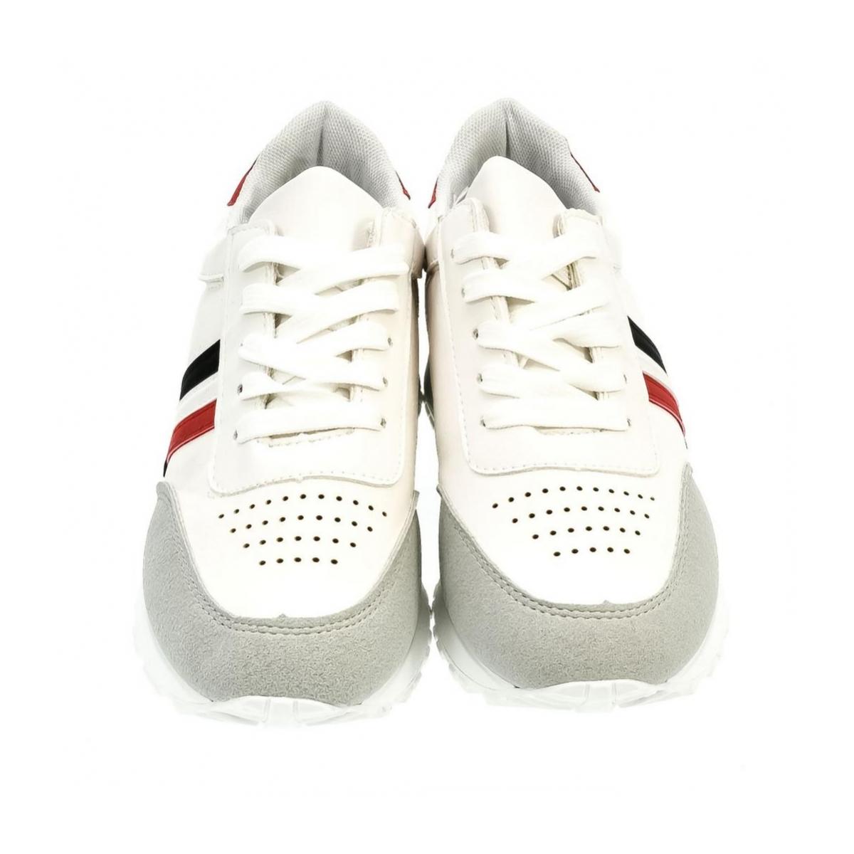 Dámske biele tenisky MENTO - 2 32b94d6ef05