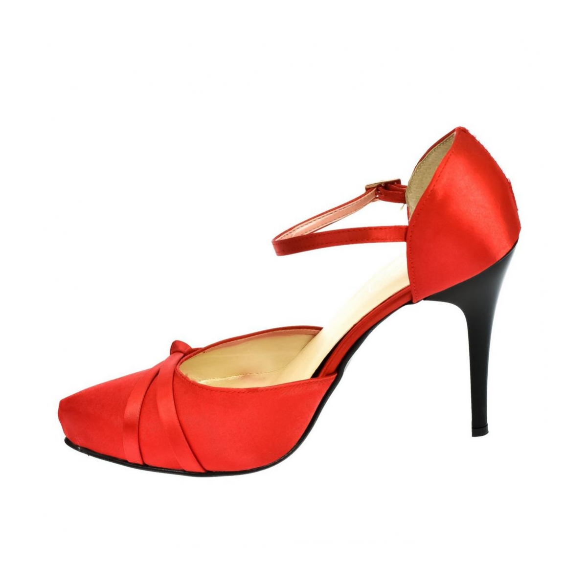 78ff93d6159b Dámske červené sandále PEBLINII P70 - 5