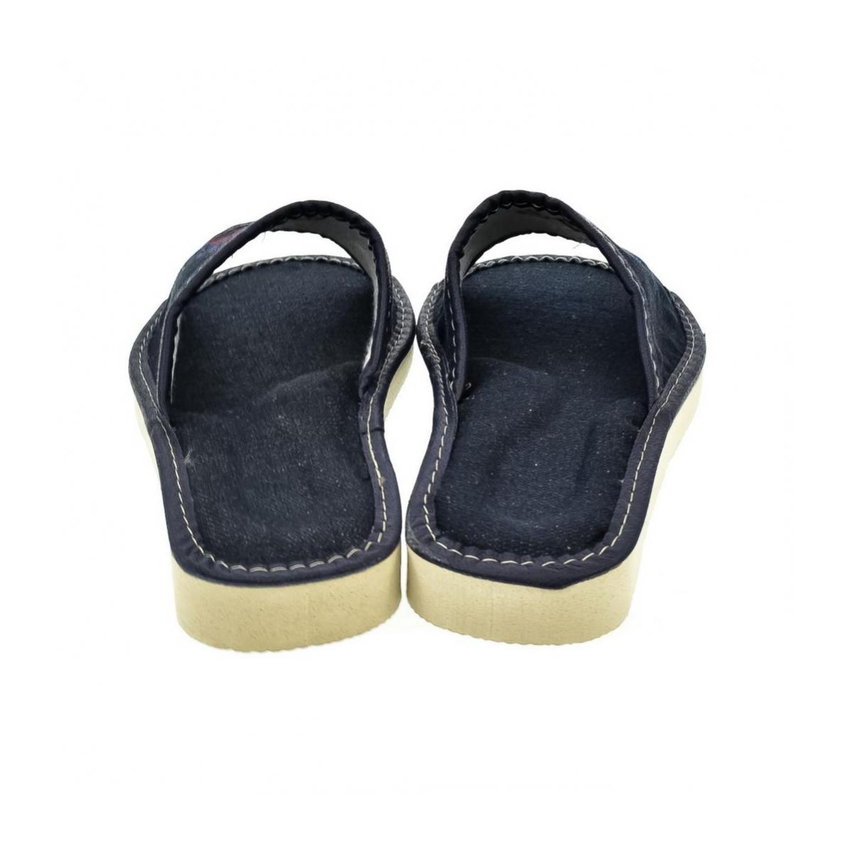 bc7e5f1031f9 Dámske modré papuče JELA - 3