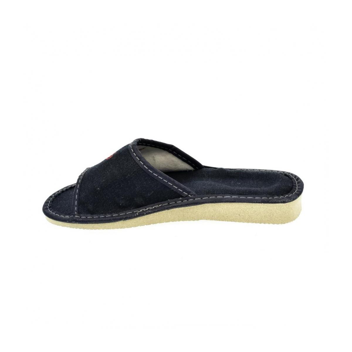 dae2fc8f0b55 Dámske modré papuče JELA - 5