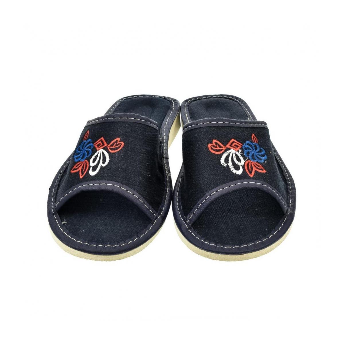 c3dca9fb92ca Dámske modré papuče JELA - 2