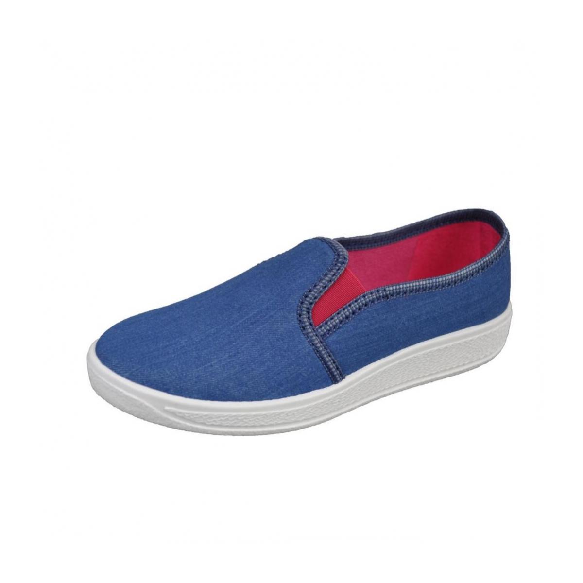 bd2c7f442f615 Detské modré topánky ANDREA | Johnc.sk