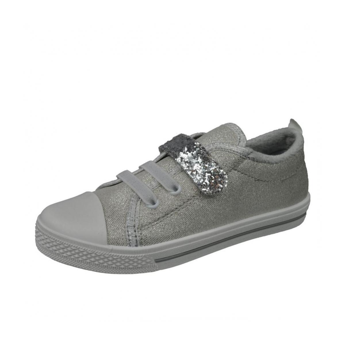 dc1ba1f481 Detské strieborné topánky PROM - 2