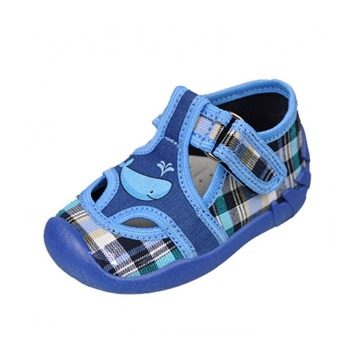 38fd2b2eb9aca Detské modré topánky KIKO | Johnc.sk