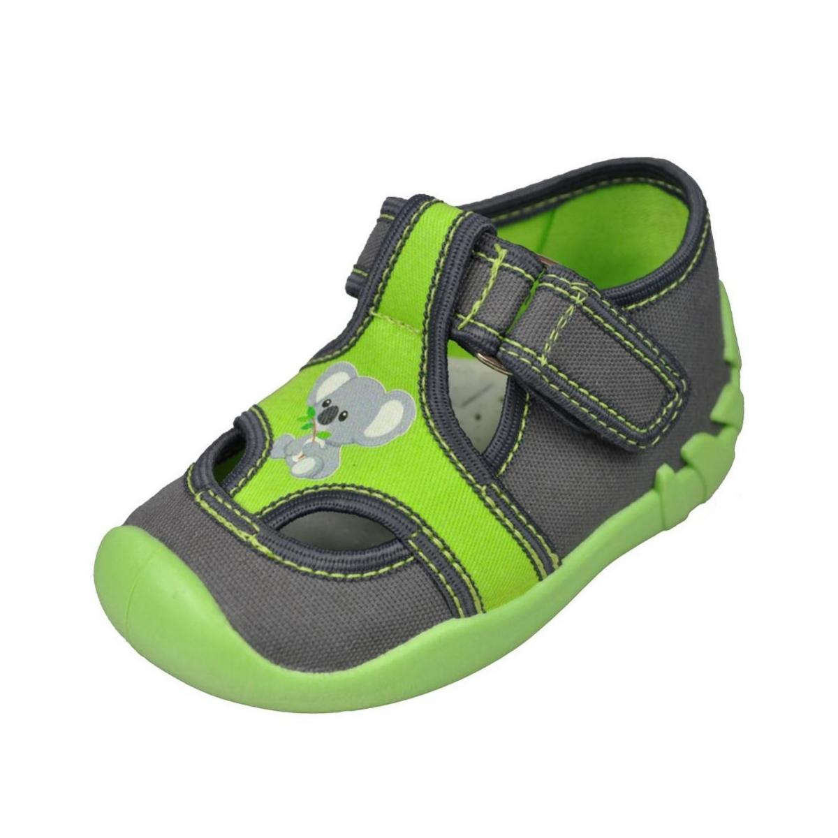 afb3865736f45 Detské sivé topánky KIKO | Johnc.sk