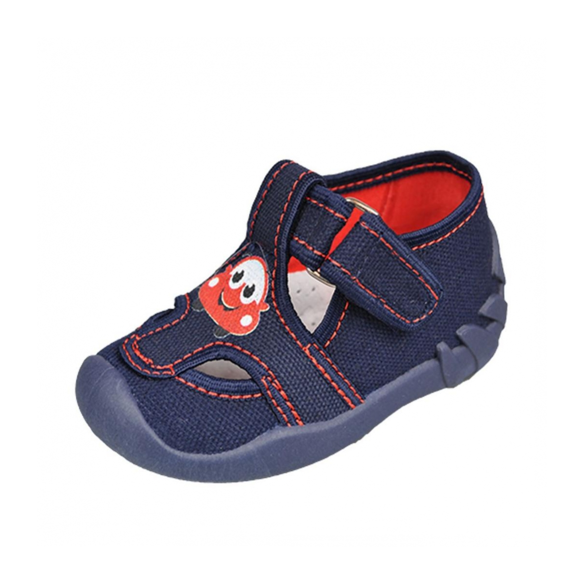 afe627dd0e0ec Detské tmavomodré topánky KIK | Johnc.sk