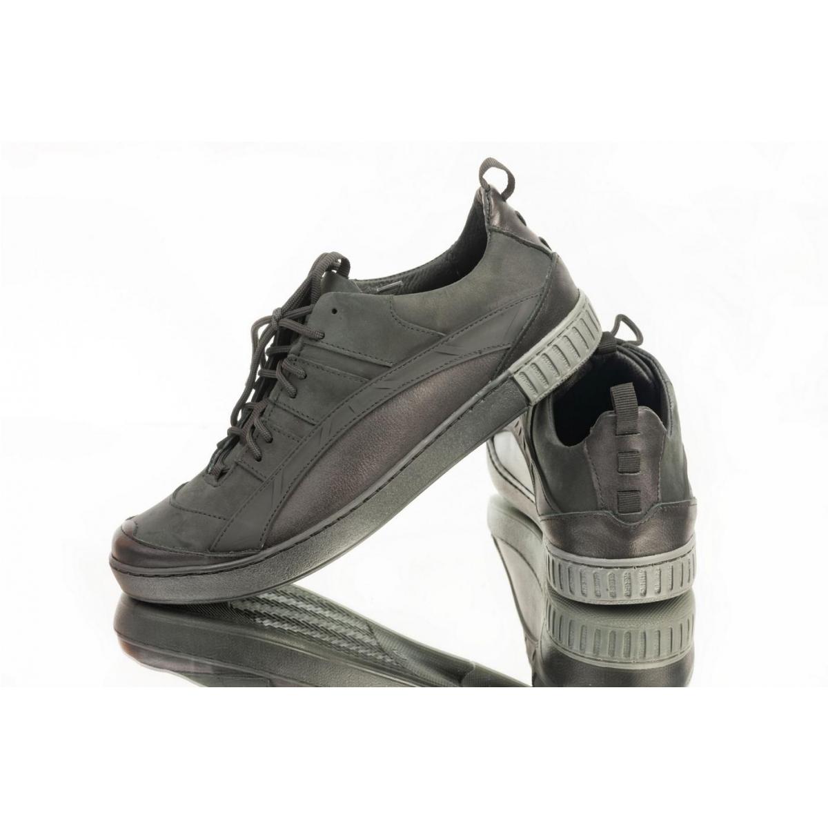 4720b4c4e8e8 Pánske čierne topánky ELIAS - 3