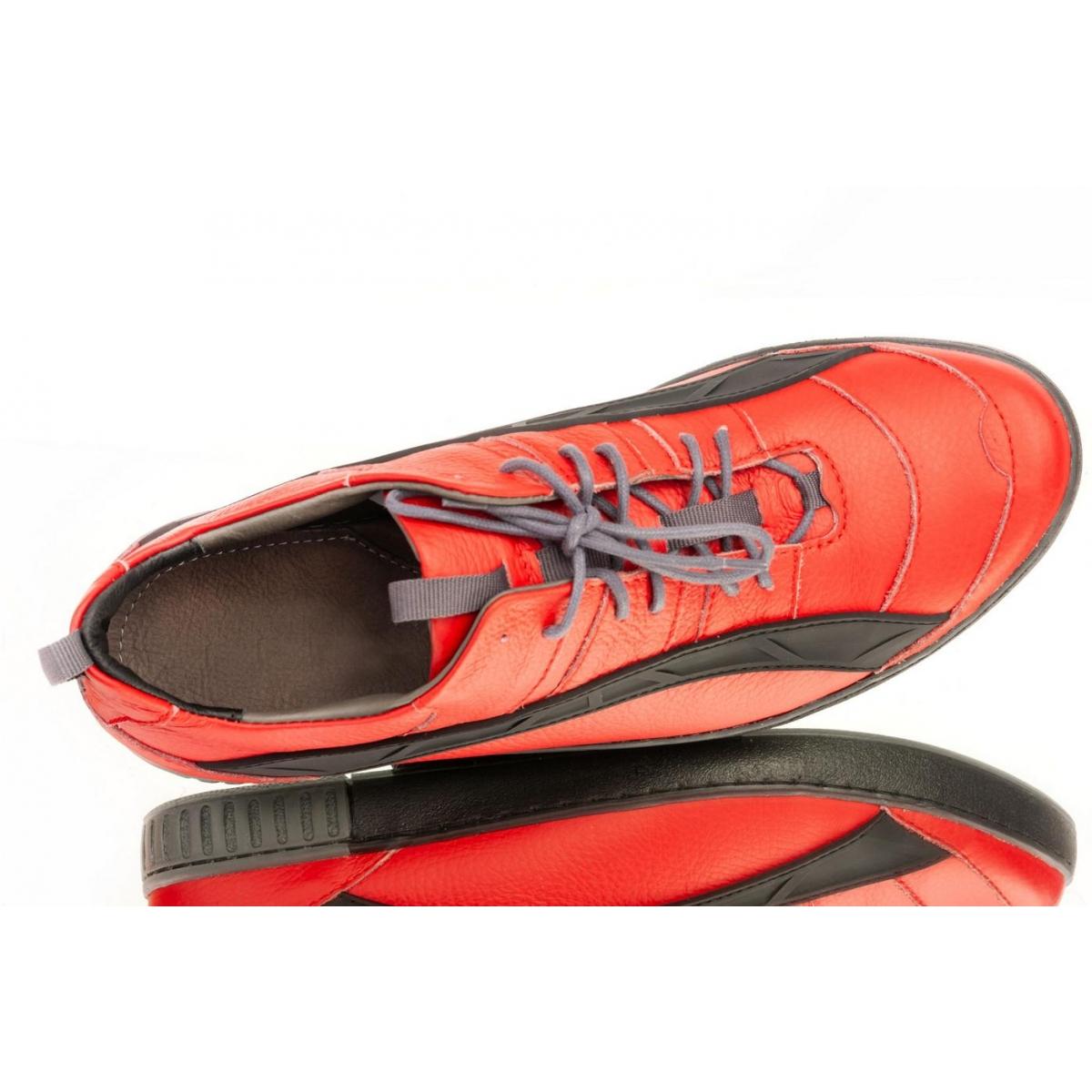 c7cdd2078470 Pánske červené topánky ELIAS - 4