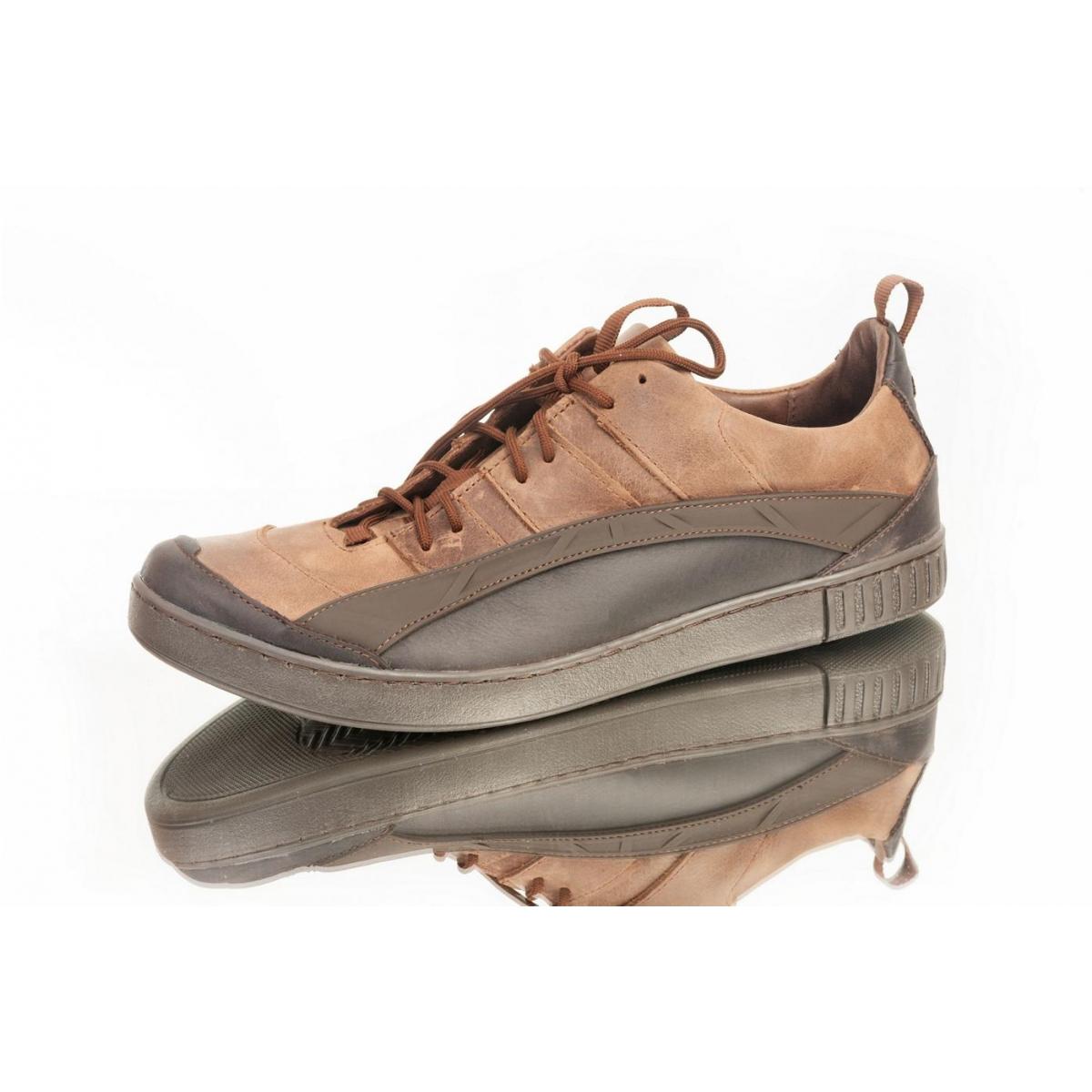 4d68ae21ba56 Pánske svetlohnedé topánky ELIAS - 2