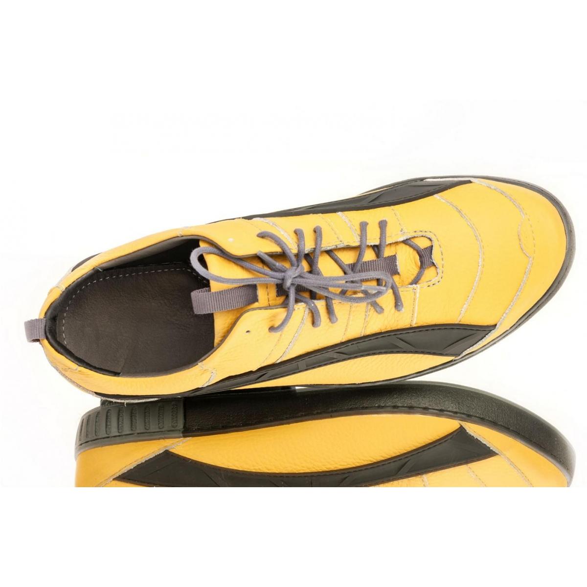 c0adddd499ba Pánske žlté topánky ELIAS - 4