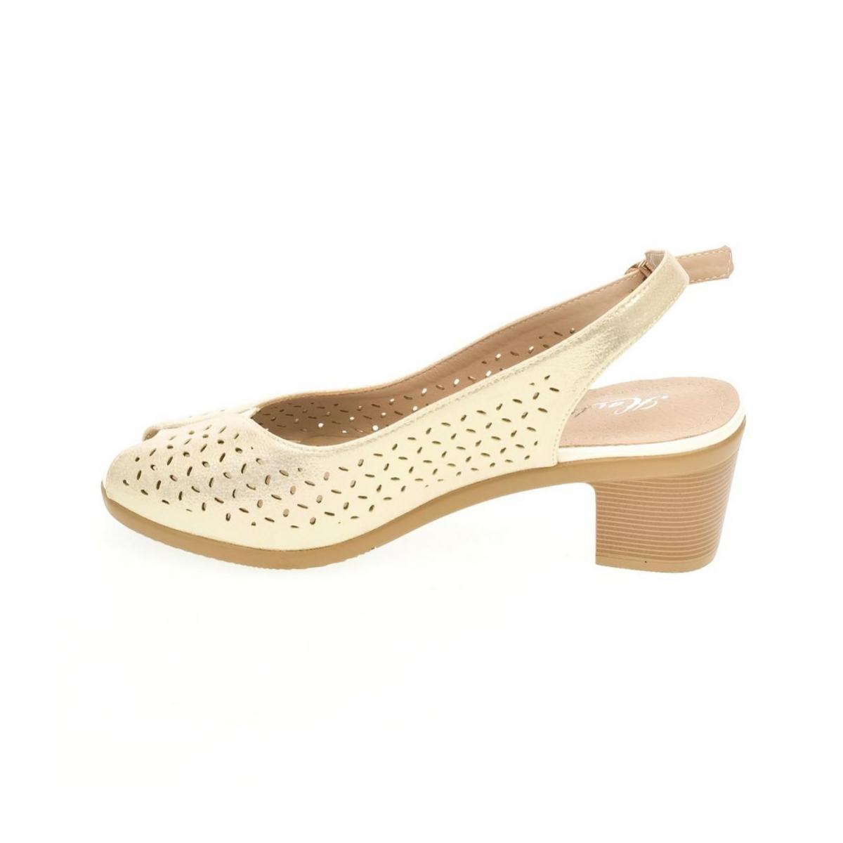 c483cac44133 Dámske biele sandále SONA - 5