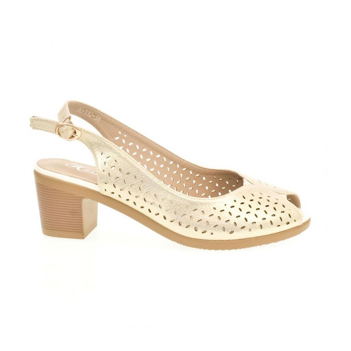 0a15dcc3bdad Dámske biele sandále SONA - 7