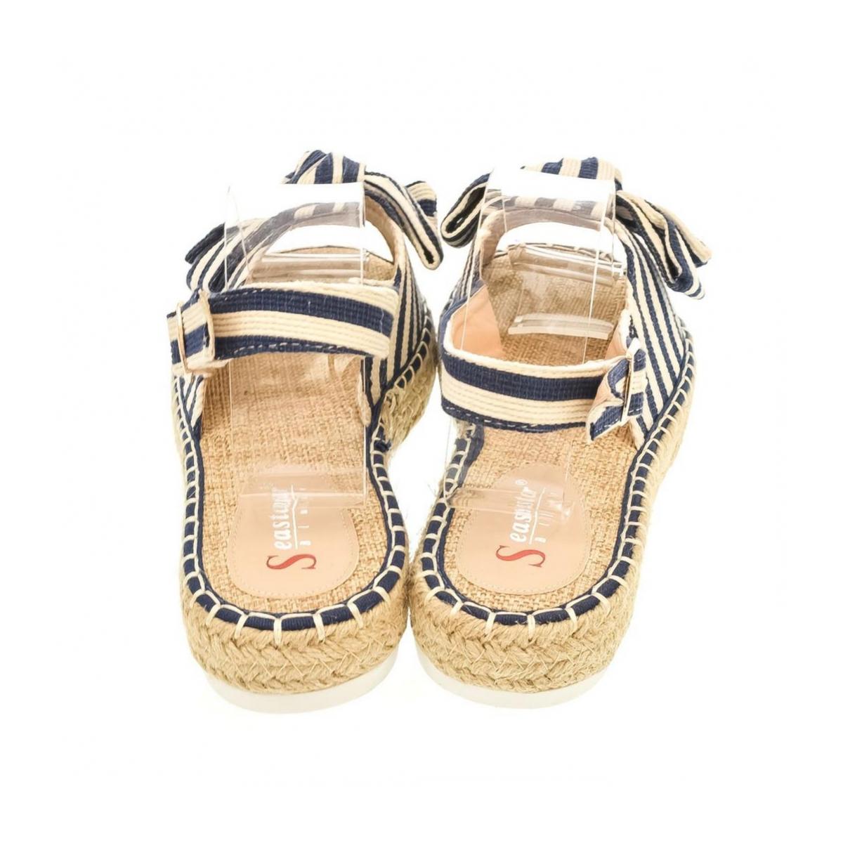 d238e8fc4ea8a Dámske modré sandále MILLA | Johnc.sk