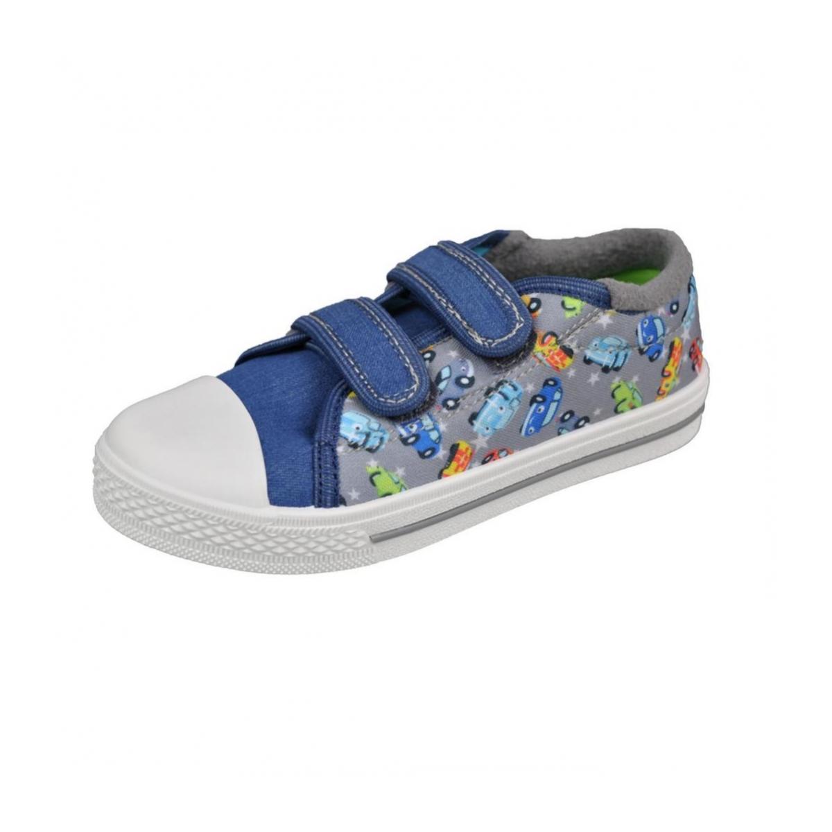 41f07a856a6c0 Detské modré topánky CARS | Johnc.sk
