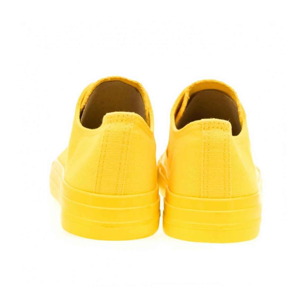 ef3d227d60d7 Dámske žlté tenisky REINA - 3