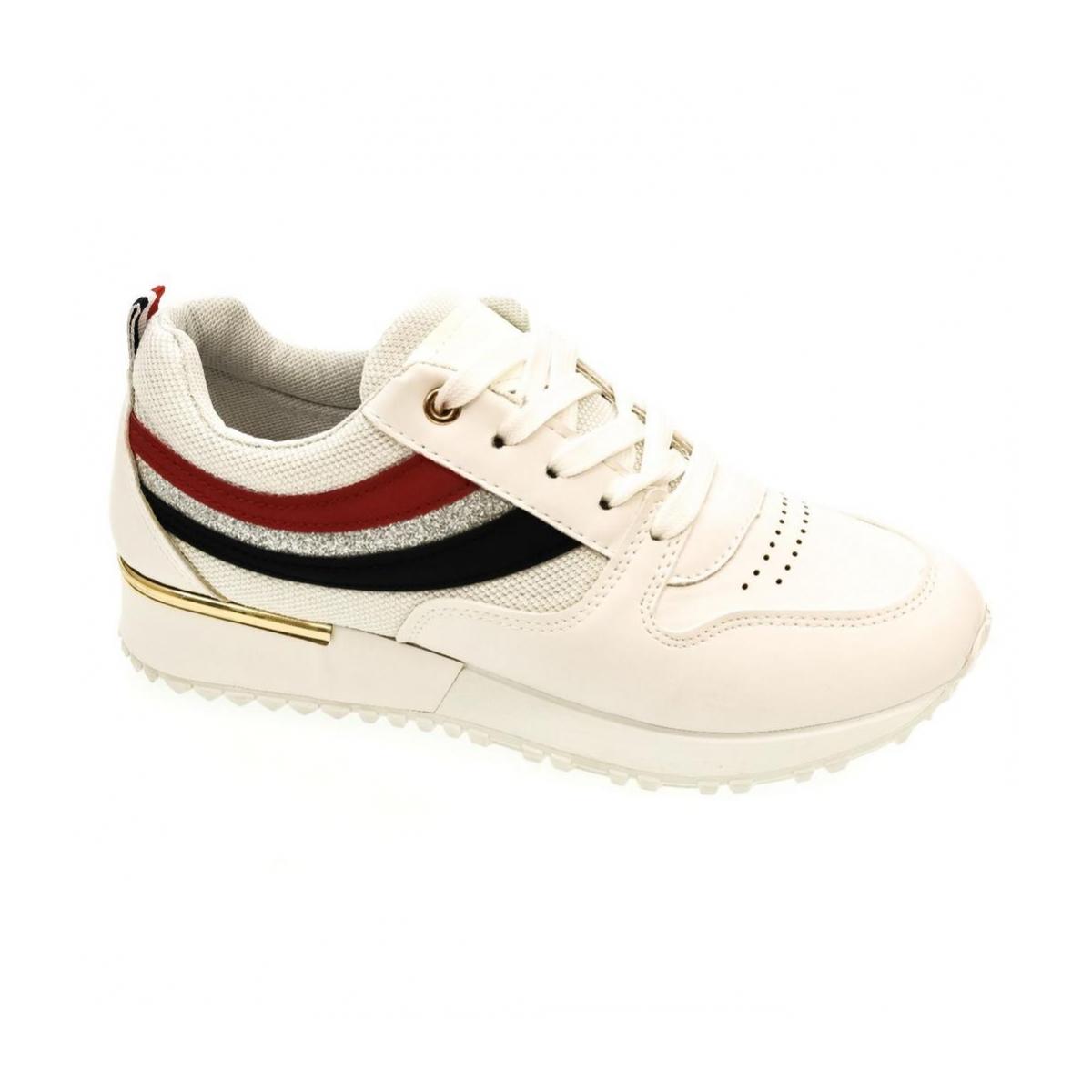 9ad142f98079 Dámske biele tenisky DARLA - 4