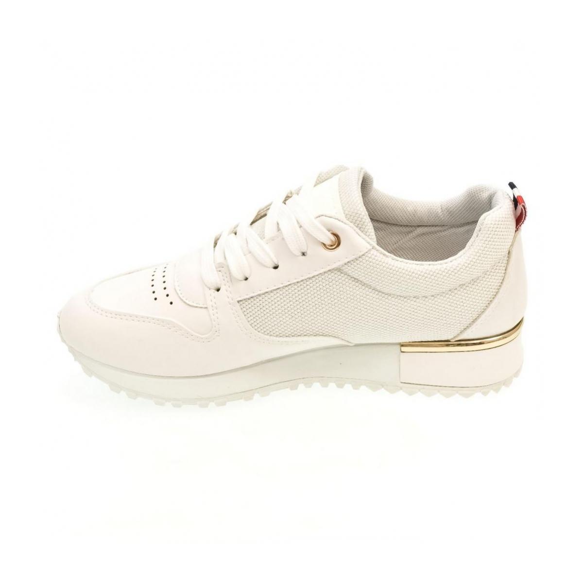 5a4e859ce703 Dámske biele tenisky DARLA - 5