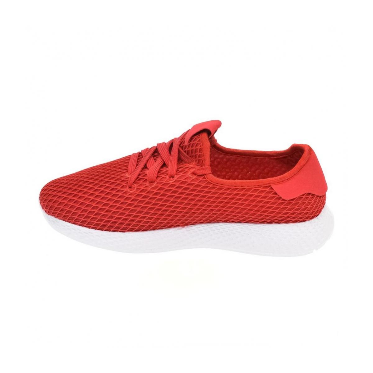 aff63f0100167 Pánske červené tenisky SIMBOS | Johnc.sk