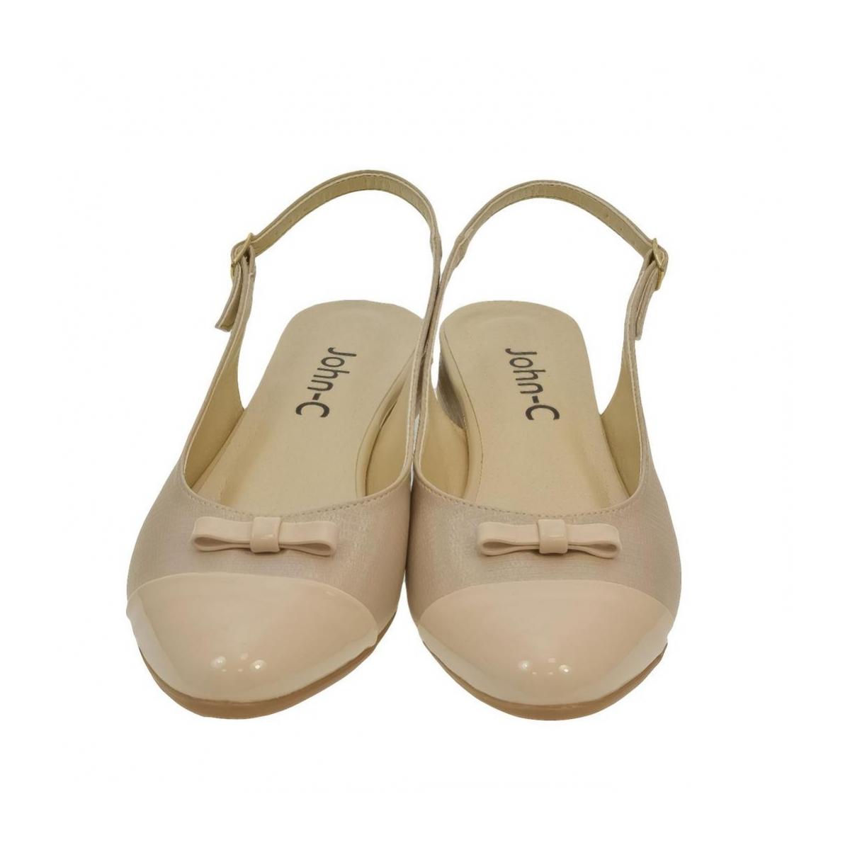 55af546440d7 Dámske béžové sandále EVELINE - 2