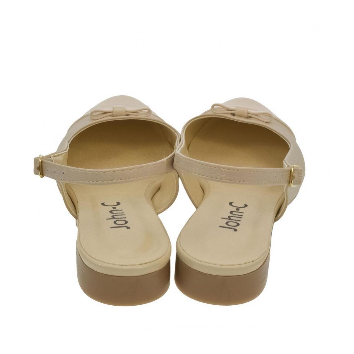 0d26dc891c72 Dámske béžové sandále EVELINE - 3