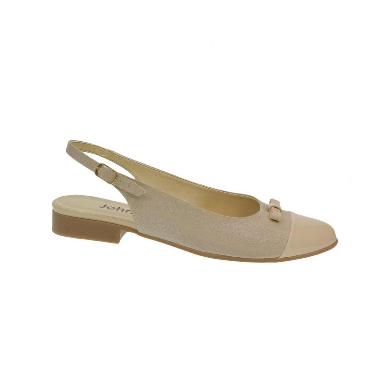 112f4f55db4b Dámske béžové sandále EVELINE - 7