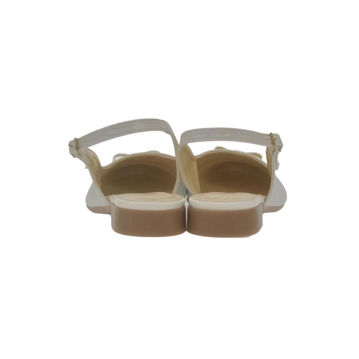 c92f6e72ee13 Dámske biele sandále EVELINE - 2