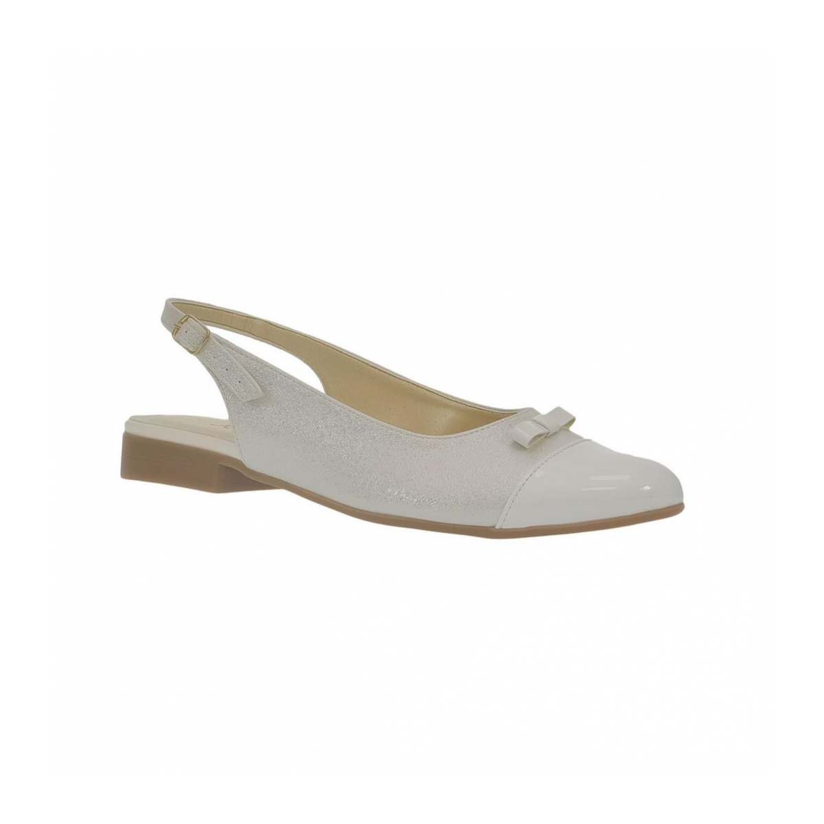 6df302d79ecb Dámske biele sandále EVELINE - 4