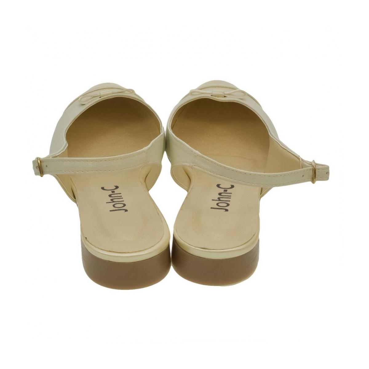 e9cfcdee10a8 Dámske zlato-béžové sandále EVELINE - 3