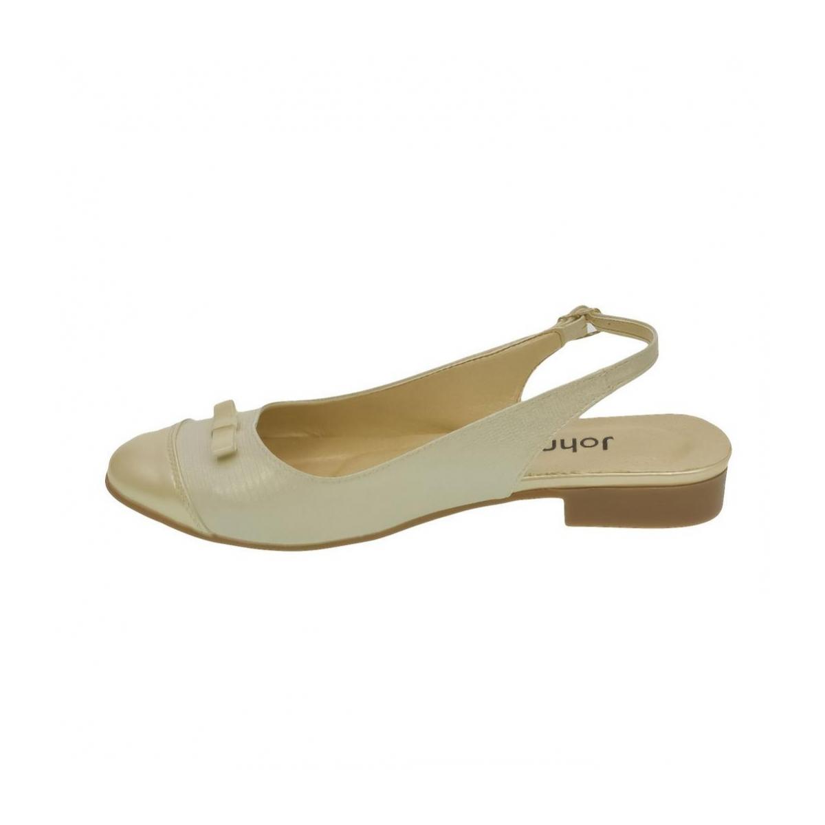 137a6a95fc4b Dámske zlato-béžové sandále EVELINE - 5