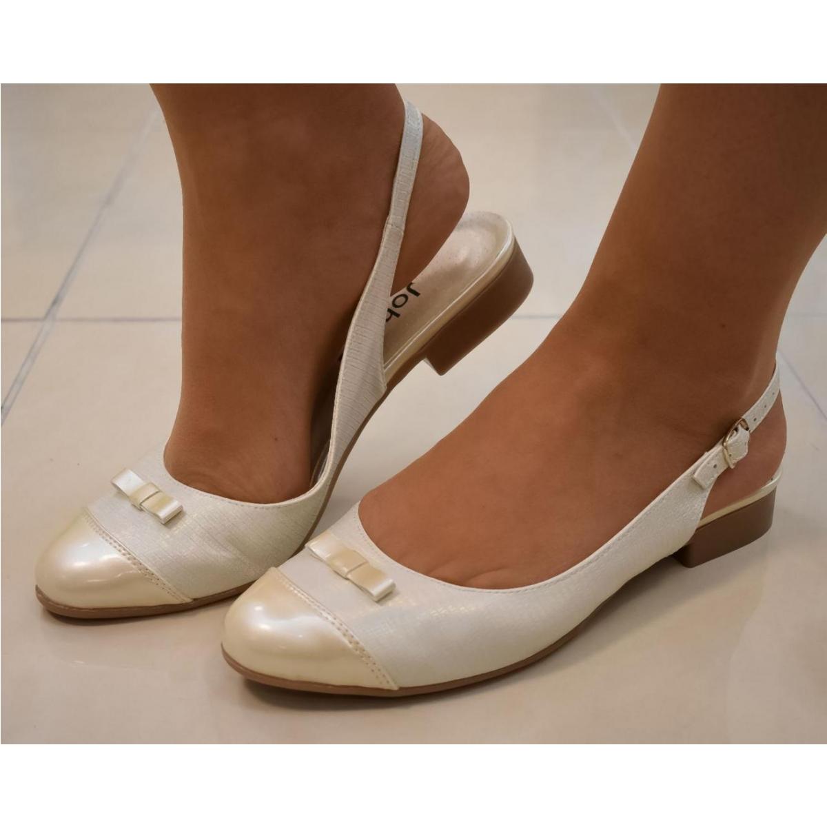 9c785cc91b81 Dámske zlato-béžové sandále EVELINE - 8