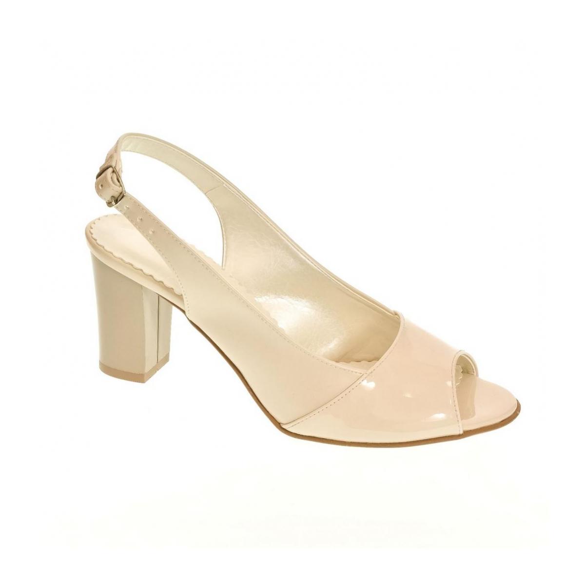 d7905e6d45ce Dámske bežové sandále SAINA - 4