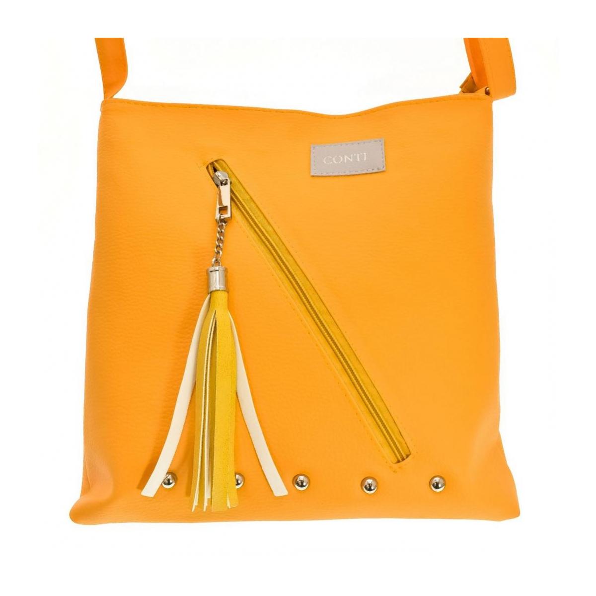 dc6e5ba93 Dámska žltá kabelka LISI | Johnc.sk