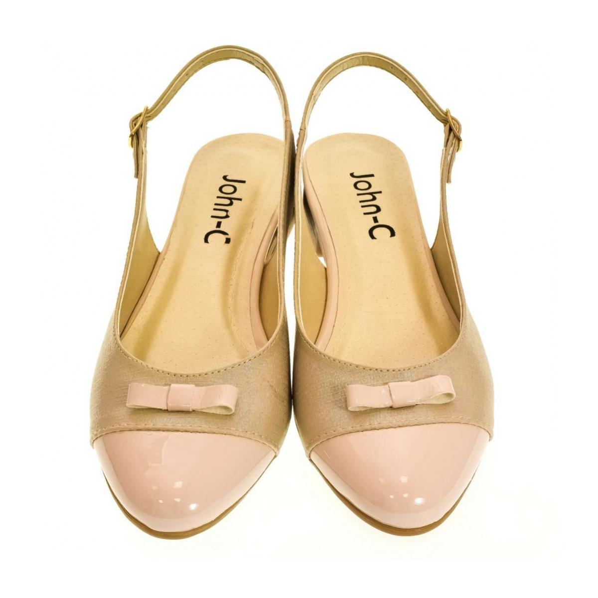 337f060412fb Dámske svetlo-ružové sandále EVELINE - 2