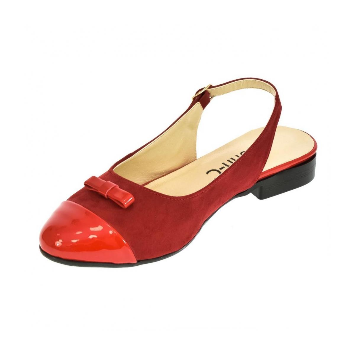 9c2d5d2369f5 Dámske červené sandále EVELINE - 6