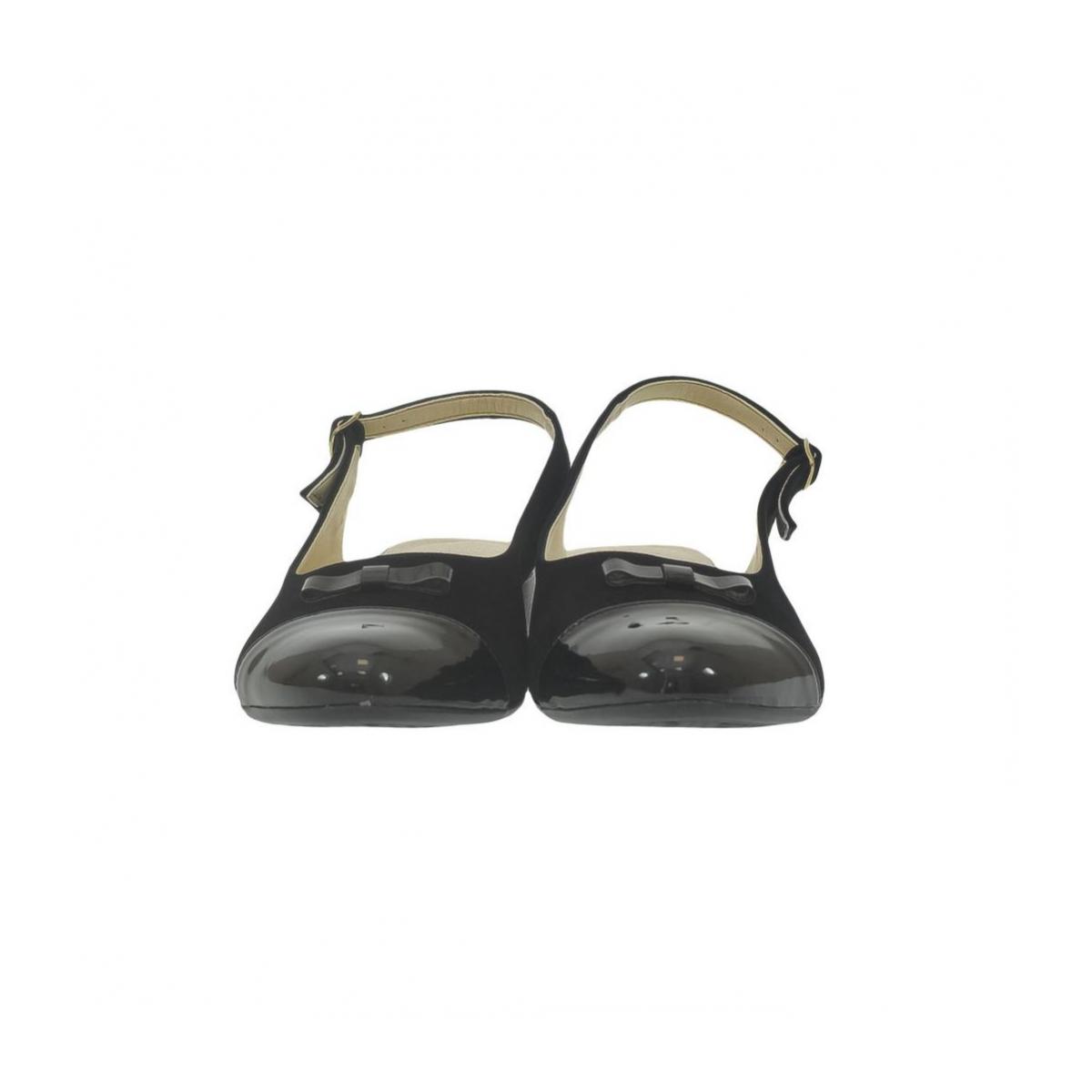 6a9a164e18a1 Dámske čierne sandále EVELINE - 2