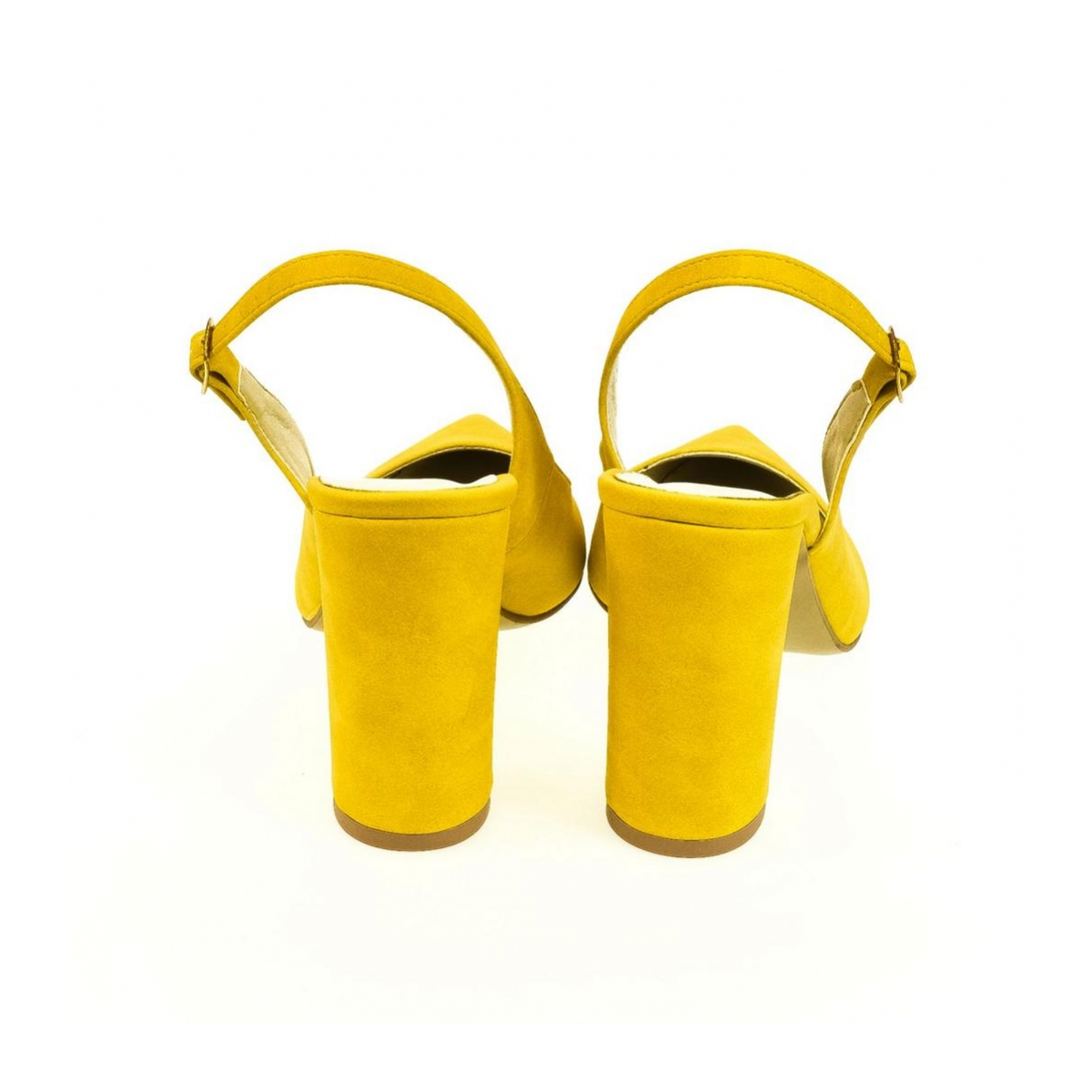 99bb54d57f Dámske žlté sandále ELISSA - 3