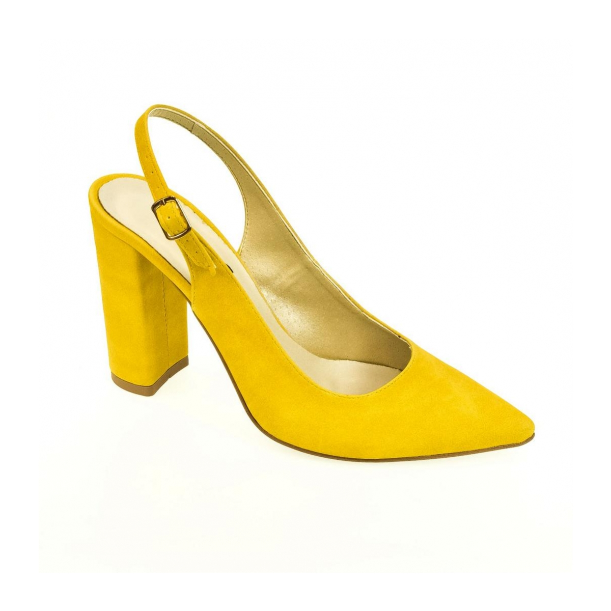 e77fa6cd6d Dámske žlté sandále ELISSA - 4