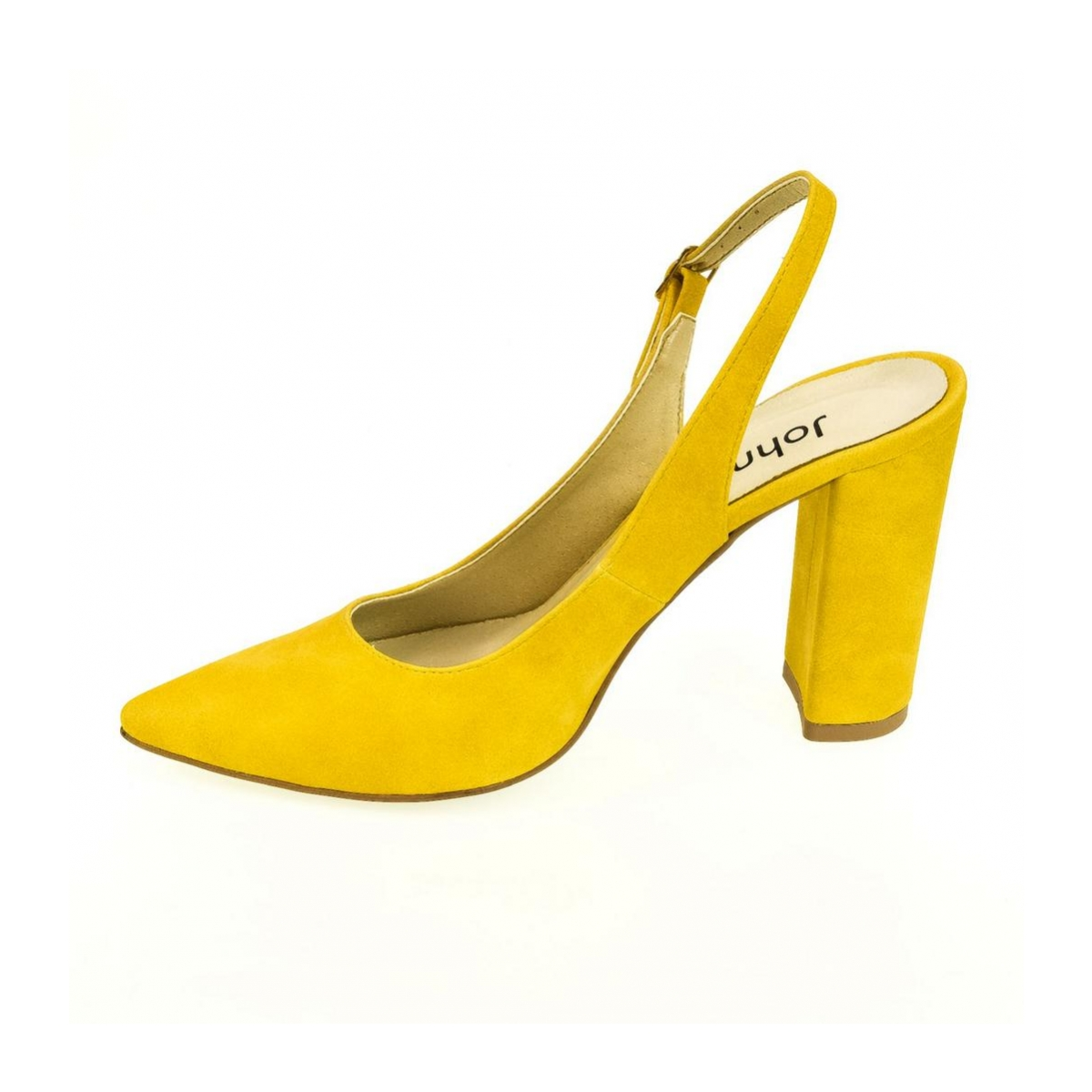 3c2e6f0387 Dámske žlté sandále ELISSA - 5